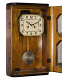 Vintage antique clock with pendulum Royalty Free Stock Photo