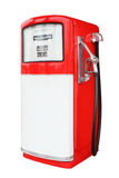 Vintage antique Gasoline fuel pump Stock Photography