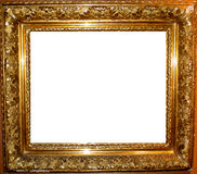 Vintage Antique Gold Frame Stock Photo