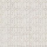 Vintage Antique grey key Seamless repeat pattern Stock Images