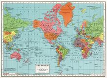 Free Vintage Antique Historical World Map Stock Photography - 214817512