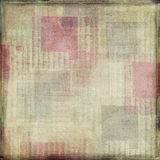 Vintage Antique Painted Scrapbook Background Royalty Free Stock Photos