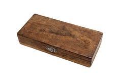 Vintage antique protractor box Royalty Free Stock Image