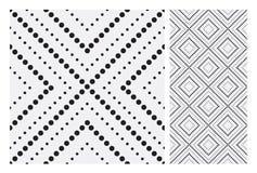 Vintage antique seamless design patterns tiles in Vector illustration. Vintage antique seamless design patterns tiles wall craft design patterns, vector stock illustration