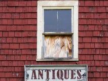 Vintage Antique sign Stock Images
