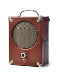 Vintage Antique speaker Stock Image