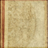 Vintage Antique Text Paper Background Royalty Free Stock Photography