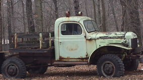 Vintage Antique  Truck Royalty Free Stock Image