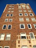 Vintage Apartment Building Stock Photo