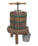 Vintage Apple Press Isolated Royalty Free Stock Images