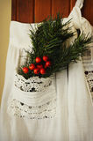 Vintage Apron Royalty Free Stock Images