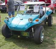 Vintage Aqua Blue Buggy Stock Image