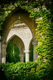 Vintage Arc in Greenery Royalty Free Stock Photography