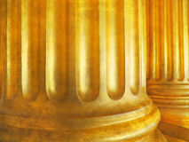 Vintage architecture background with classic columns. Stock Images