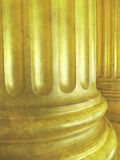 Vintage architecture background with classic columns. Royalty Free Stock Photography