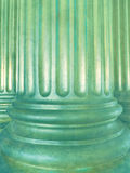 Vintage architecture background with classic columns. Stock Photos