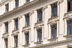 Vintage Architecture In Bucharest Royalty Free Stock Image