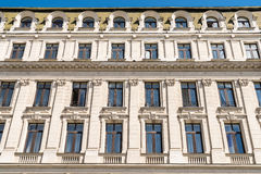 Vintage Architecture In Bucharest Royalty Free Stock Photography