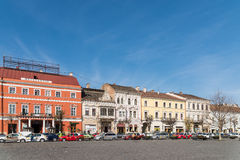 Vintage Architecture Downtown Of Cluj Napoca Stock Photos