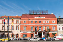 Vintage Architecture Downtown Of Cluj Napoca Stock Image