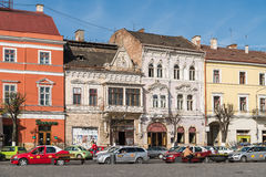 Vintage Architecture Downtown Of Cluj Napoca Stock Photography