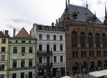 Vintage architecture of Old Town in Torun. Poland royalty free stock image