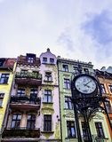Vintage architecture of Old Town in Torun. Poland royalty free stock photo
