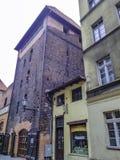 Vintage architecture of Old Town in Torun. Poland royalty free stock photos