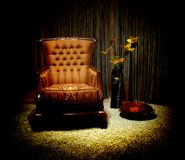 Vintage armchair Stock Images