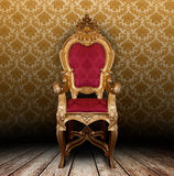 Vintage armchair Stock Photography