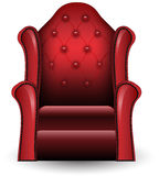 Vintage armchair illustration Royalty Free Stock Images
