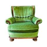 Vintage armchair isolated Stock Photos
