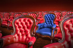 Vintage Armchairs Royalty Free Stock Photos