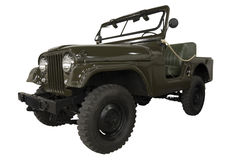 Vintage Army Jeep Stock Image