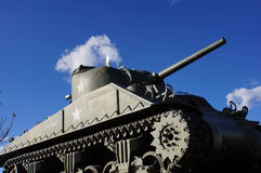 Vintage army tank Royalty Free Stock Photos