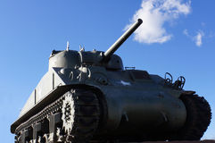 Vintage army tank Stock Photos