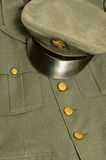 Vintage army uniform Stock Image