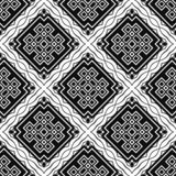 Vintage Art Deco Pattern. Abstract Art Deco Tiles Seamless Vector Pattern. Geometric texture. Repeating background stock photo