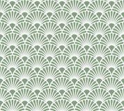Vintage Art Deco Seamless Pattern floral Textura decorativa geométrica ilustração do vetor