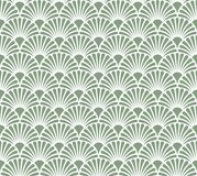 Vintage Art Deco Seamless Pattern floral Texture décorative géométrique Photo stock