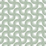 Vintage Art Deco Seamless Pattern floral Texture décorative géométrique Photo libre de droits