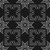 Art Deco Seamless Pattern stock illustration