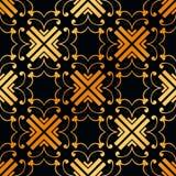 Art Deco Seamless Pattern. Vintage Art Deco Seamless Pattern. Geometric decorative texture royalty free stock photo