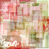 Vintage Art Paper Background. A multi-layered, rich textured background Royalty Free Stock Photos