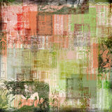 Vintage Art Paper Background. A multi-layered, rich textured background Stock Photo
