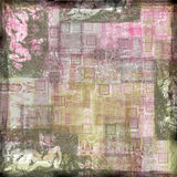 Vintage Art Paper Background. A multi-layered, rich textured background Stock Images