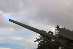 Vintage artillery Stock Images
