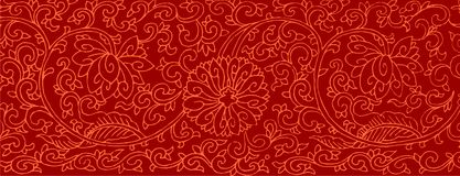 Vintage Artistic Pattern Royalty Free Stock Images