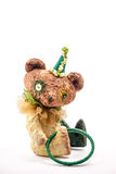 Vintage artistic Teddy Bear toy Royalty Free Stock Photography