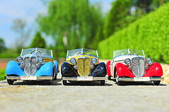Vintage Audi cabriolets Stock Image